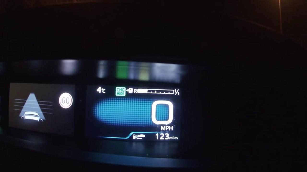 Toyota Prius Prime Plug In 0 60 Mph 100kph Acceleration
