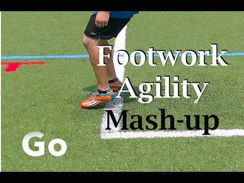 Fast Feet Individual Soccer Drills & Agilities Mash up