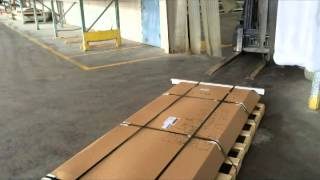 Loading Armorcore Pallets