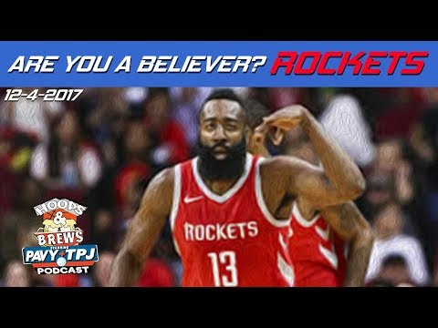 Are You A Believer? Houston Rockets | #HoopsNBrews