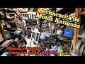 Mega😱chacarita De Motos Antiguas🤔estoy En Un Desarmadero De Moto Nsu🏍puma🛵gilera🏍siambreta🛵norton..!