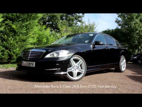 Chauffeur Rentals, London. Mercedes S-Class, E-Class, Viano & Range Rover PCO Rentals