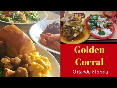 Golden Corral - Food Tour Orlando -This was the closest ...