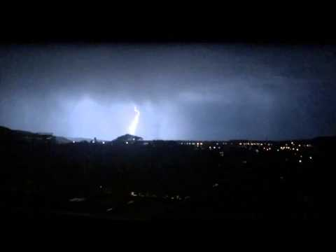 Lighting Portland OR August 1st 2014 - part 2