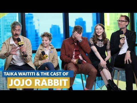 Taika Waititi Talks About Directing Jojo Rabbit While In Full Hitler Costume   FULL INTERVIEW