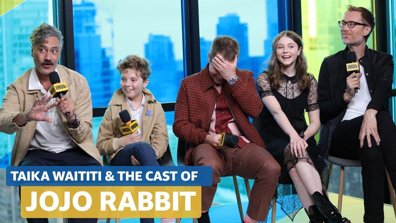 Jojo Rabbit Cast >> Taika Waititi Talks About Directing Jojo Rabbit While In Full Hitler Costume Full Interview