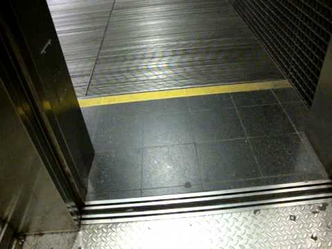 Fast KONE Monospace MRL Traction Elevators/Lifts, Kamppi Metro Station/Center, Helsinki (Retake)