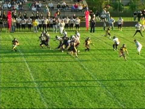 Dan Patenaude #22 RB/LB Goodrich High School Football 09