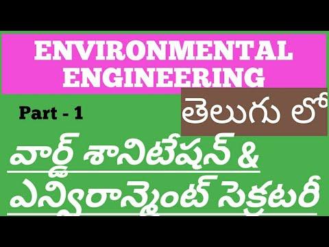 environmental-engineering-in-telugu- -ward-sanitation-secretary- -model-questions- -online-class-12