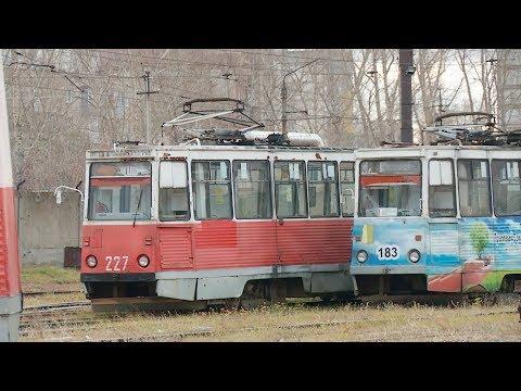 В Бийске хотят обновить трамвайный парк электровагонами из Москвы (23.10.19г., Бийское телевидение)