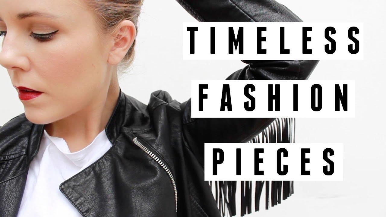 Timeless Fashion Pieces