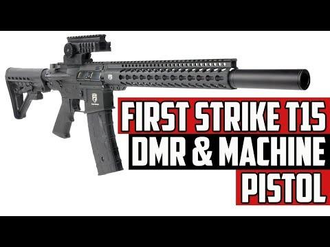 First Strike T15 DMR & Machine Pistol Paintball Gun