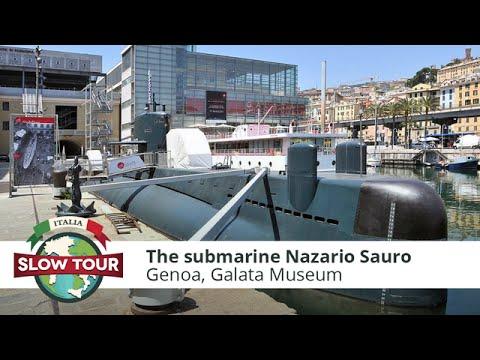 Genoa: The submarine Nazario Sauro | Italia Slow Tour