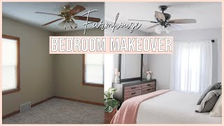 FARMHOUSE BEDROOM MAKEOVER | Sean & Brooke