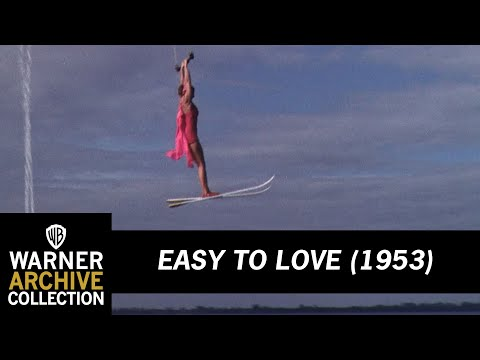 Easy To Love (1953) –  Esther Williams Water Ski to Helicopter Stunt
