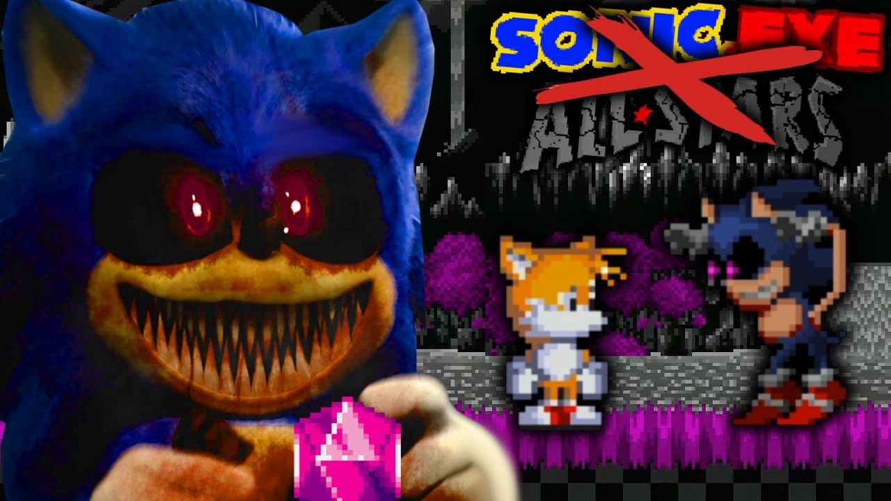 Sonic Exe Phantom Beginning Sonic Exe All Stars Dev Made This Creepy Sonic Exe Game Tails Act Youtube