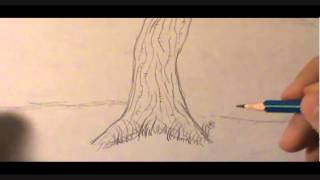 how to draw backgrounds-trees/forrest
