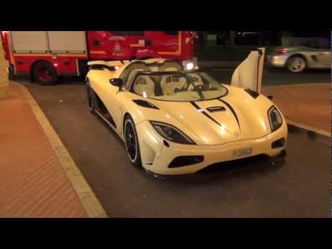 Koenigsegg Agera R - Walkaround, Startup and Driving in Monaco
