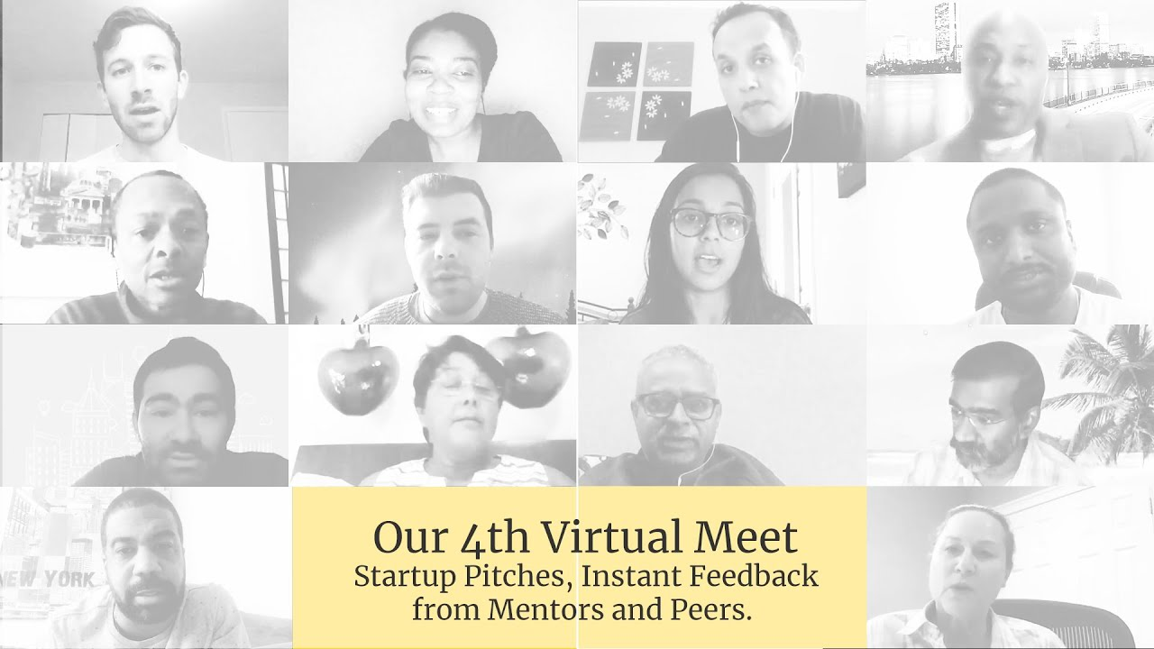 Virtual Meet #4: Fast Pitches Instant Feedback