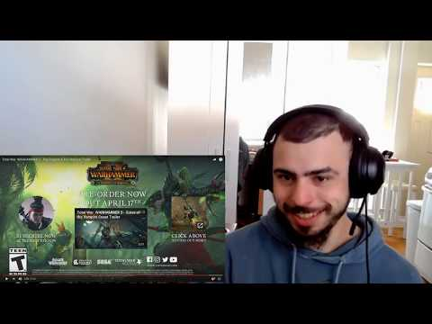The Prophet and the Warlock Reveal Trailer Reaction