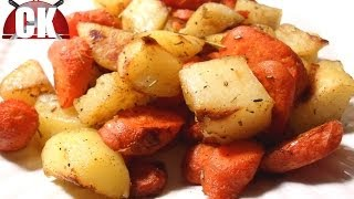 How To Make Roasted Potatoes And Carrots - Easy Cooking!