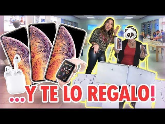 LE COMPRO A MI ABUELA TODO LO QUE TOCA EN LA TIENDA APPLE! IPHONE XS,LAPTOP MACBOOK PRO Y +| Mariale