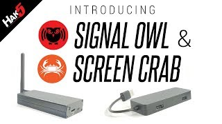 INTRODUCING the Screen Crab and Signal Owl by Hak5 - 2601