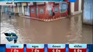 Video Morbi: Increase in Water level of Macchu-2 Dam, Due to heavy rain | Zee24Kalak download MP3, 3GP, MP4, WEBM, AVI, FLV Juli 2018