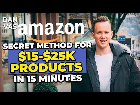 SECRET Amazon FBA Product Research Technique That Found Me $15,000-$25,000 Products In 15 Minutes!