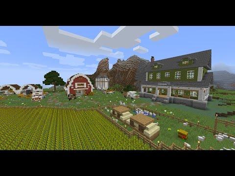 карты ферм в майнкрафт #4