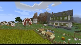 Обзор карты minecraft: The Farm (Ферма)