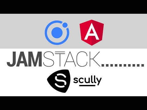 Ionic Angular in the JAMstack