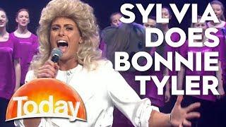 Sylvia Jeffreys does Bonnie Tyler classic | TODAY Show Australia