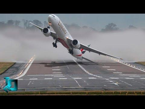 10 САМЫХ экстремальных и ОПАСНЫХ аэропортов мира