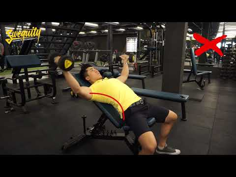 [NG13] Tập ngực - Incline Dumbbell Fly