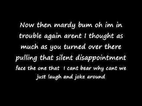 mardy bum lyrics