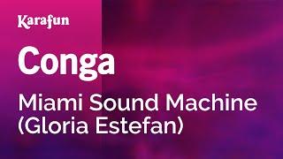 Karaoke Conga - Miami Sound Machine *
