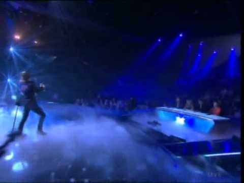 Darren Hayes live on X-Factor 25/10/11 - Bloodstained Heart