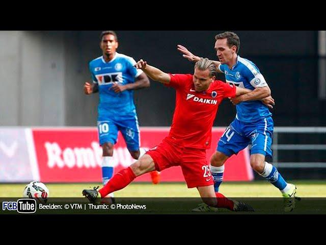 2015-2016 - Jupiler Pro League - 10. AA Gent - Club Brugge 4-1