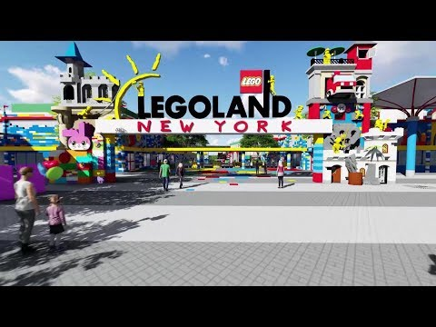 LEGOLAND New York - New Theme Park Announcement