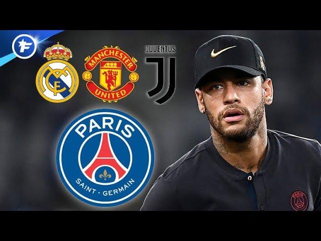 Le PSG offre Neymar à trois clubs | Revue de presse
