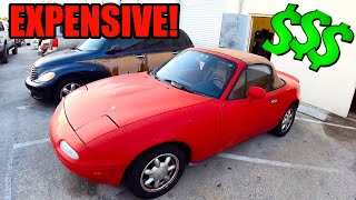 homepage tile video photo for END OF THE ROAD FOR MIATA FLIPS...