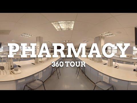 School of Pharmacy 360 facilities tour