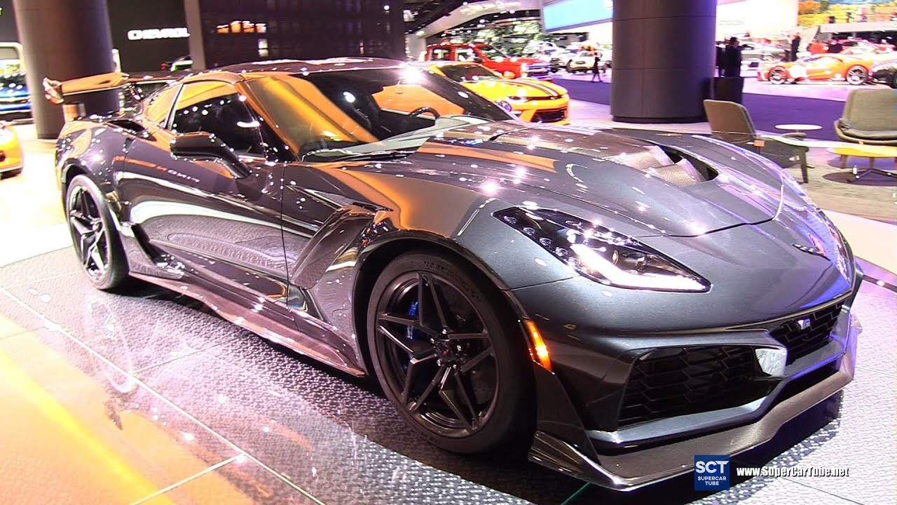 2019 Chevrolet Corvette Zr1 Exterior And Interior Walkaround 2018 Detroit Auto Show