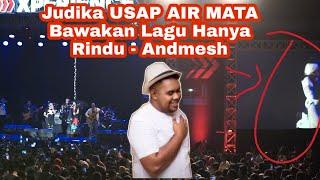 JUDIKA MENANGIS MEMBAWAKAN LAGU ANDMESH KAMALENG Hanya Rindu LIVE Gor Oepoi Kupang NTT FULL HD