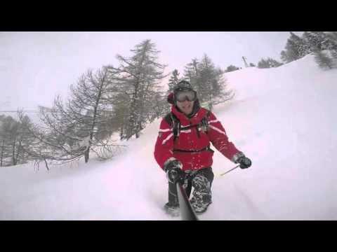 Courmayeur ski freeride