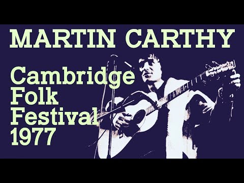 Martin Carthy: Cambridge Folk Festival 1977