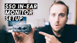 $50 IN-EAR MONITOR SETUP FOR WORSHIP BANDS | Behringer P1