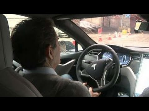 Behind the wheel of Tesla's autopilot system