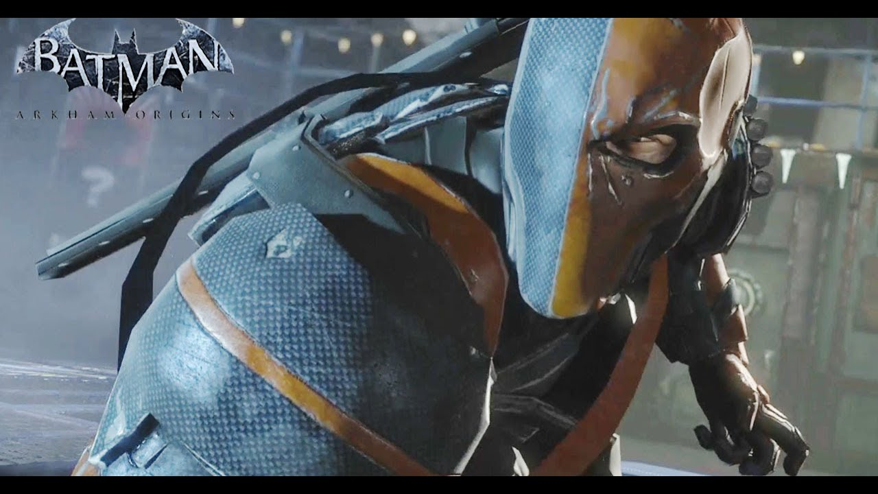 Deathstroke Boss Fight Batman Arkham Origins